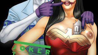 El joker, follando a la Mujer Maravilla
